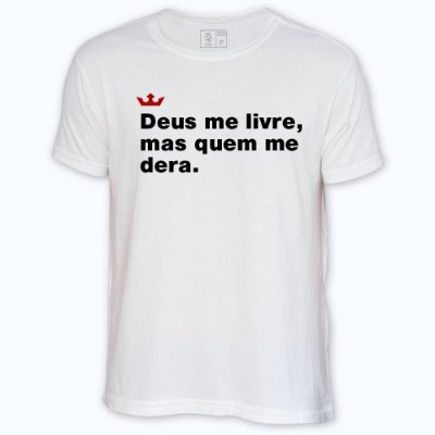 Camiseta Resenha - Deus me livre