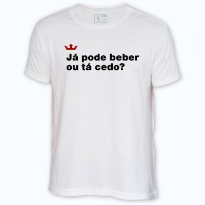 Camiseta Resenha - Já pode beber?