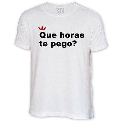 Camiseta Resenha - Que horas te pego?