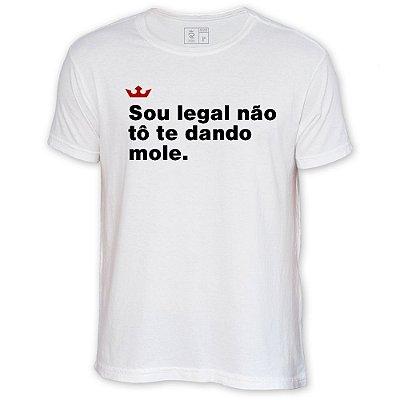 Camiseta Resenha - Sou legal não tô te dando mole