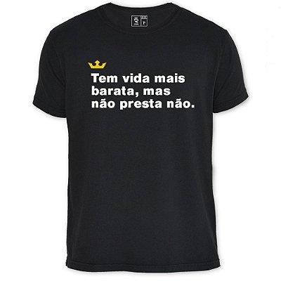 Camiseta Resenha - Tem vida mais barata