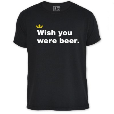 Camiseta Resenha - Wish you were beer