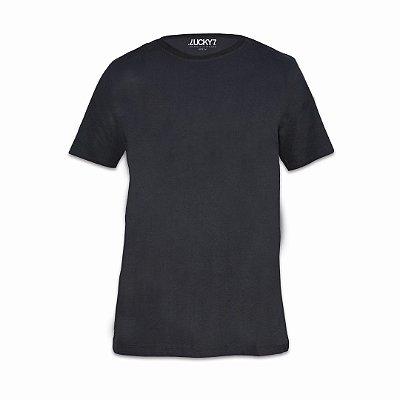 Camiseta Aveludada - Preta