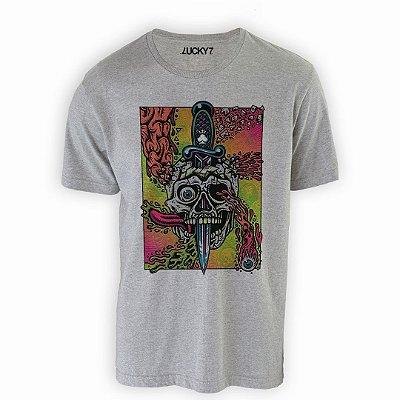 Camiseta Lucky Seven - Skull Crazy