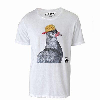 Camiseta Lucky Seven - Pigeon