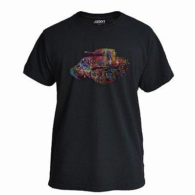 Camiseta Lucky Seven Preta - War Art