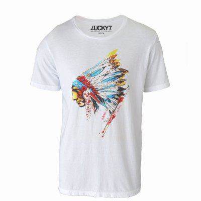 Camiseta Lucky Seven - Native American