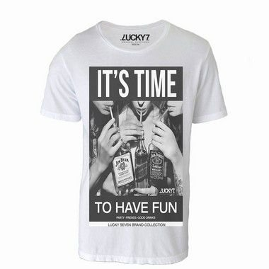 Camiseta  - It's Time LIQUIDAÇÃO