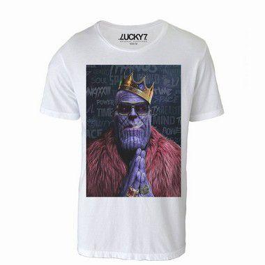 Camiseta  - King Thanos LIQUIDAÇÃO