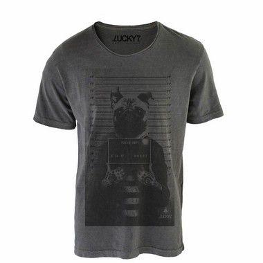 Camiseta Relax - Criminal Pug LIQUIDAÇÃO