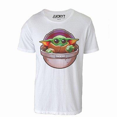 Camiseta Lucky Seven - Baby Yoda