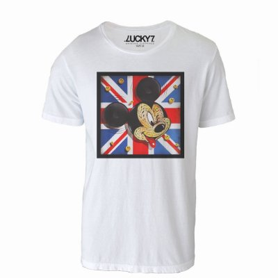 Camiseta Lucky Seven - Mickey Flag