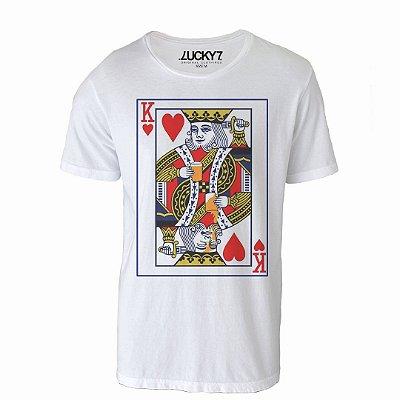 Camiseta Lucky Seven - Reis de Copas