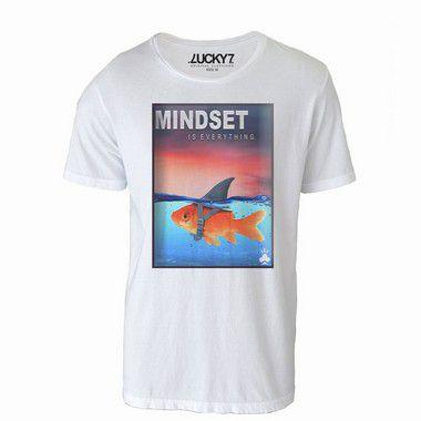 Camiseta Gola Básica - Mindset LIQUIDAÇÃO