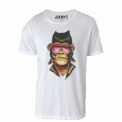 Camiseta Gola Básica - Gorilla Style