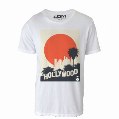 Camiseta Lucky Seven - Hollywood
