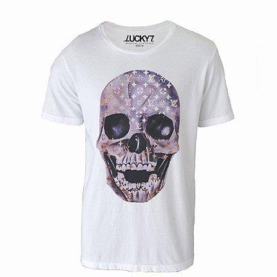 Camiseta Lucky Seven - Louis Skull