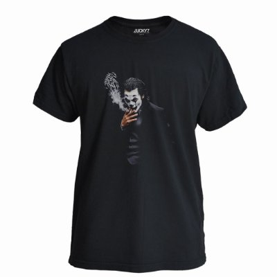 Camiseta Lucky Seven Preta - Joker Smoking