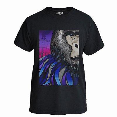 Camiseta Lucky Seven Preta - 60' monkey