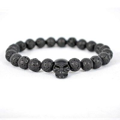 Pulseira Black Skull