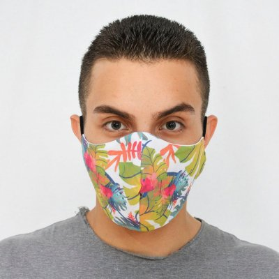 Máscara de Proteção Algodão - Estampa Flower
