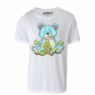 Camiseta Lucky Seven - Money Bear