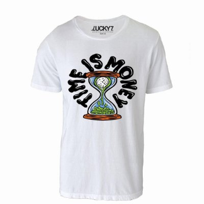 Camiseta Lucky Seven - Time is Money