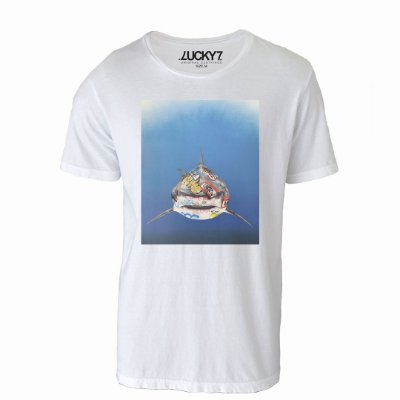 Camiseta Lucky Seven - SHARK ART