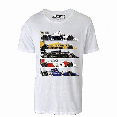 Camiseta Gola Básica - CARS F1