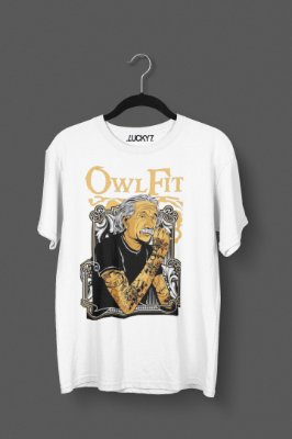 Camiseta Lucky Seven - Einstein Owl Fit