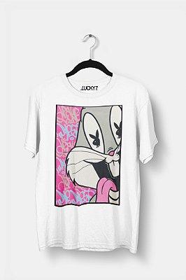 Camiseta Gola Básica - Bugs Bunny