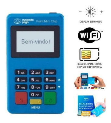 Point Mini Chip - Kit com 20 unidades