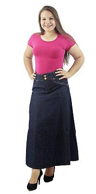 Saia Longa Jeans Evangélica Tradicional Ref.005