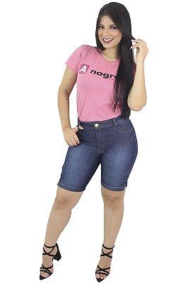 Bermuda Jeans Feminina Abertura Lateral Anagrom Ref.3008