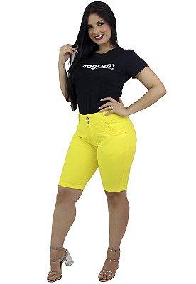 Bermuda Brim Feminina Amarela Anagrom Ref.3011