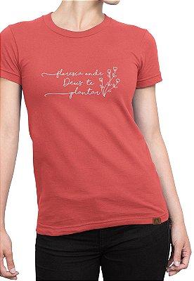 T-shirt Frases Moda Evangélica Anagrom Melancia Ref.C011