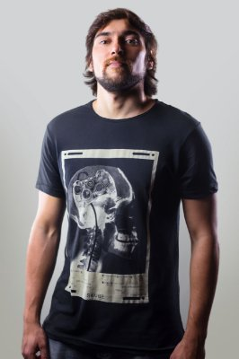 CAMISETA GAMER HEAD PRETO