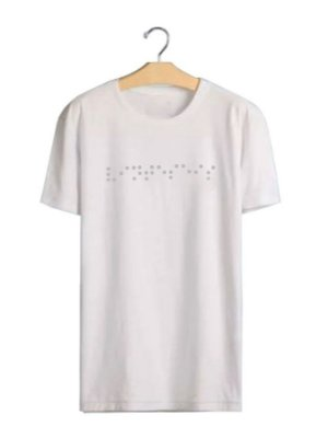 Camiseta Braile White