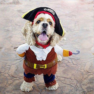Fantasia para Cachorro Piratas do Caribe