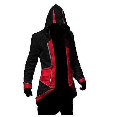 Jaqueta Assassins Creed Anime Cosplay Kenway Cosplay Ezio - Pronta Entrega