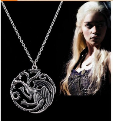 Colar Daenerys Targaryen Game Of Thrones