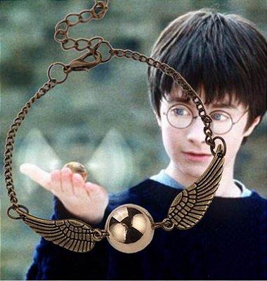 Pulseira Pomo de Ouro Harry Potter