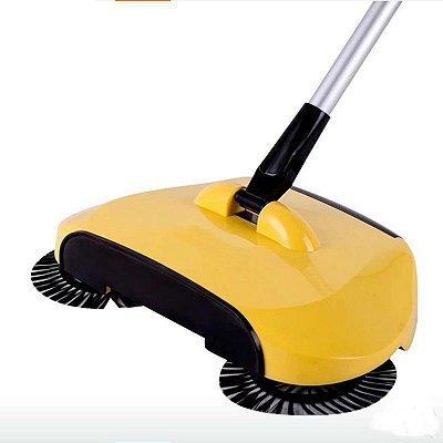 Vassoura Multiuso-Sweeper / Mágica 3 em 1 Varre, coleta e sucção. 360 Graus de Rotação