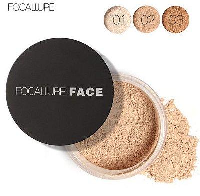 Pó Para Maquiagem Facial Focallure 3 Cores