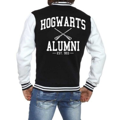 Jaqueta Harry Potter College Universitária Americana Barata Customizada
