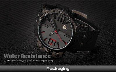 Relógio Shark Esportivo Militar Masculino Aço Inoxidável