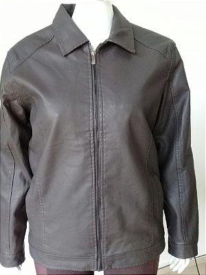 Jaqueta De Couro Legítimo Pegada Fashion Wear