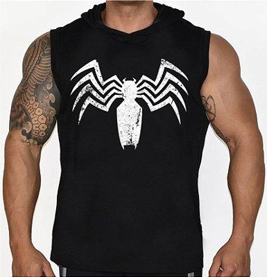 Camiseta Regata Machão com Capuz Venom