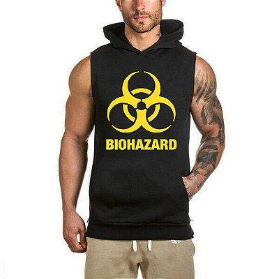 Colete de Moletom Biohazard