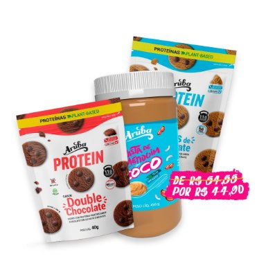 Combo Namorados - 4 Proteins + 1 Pasta Coco